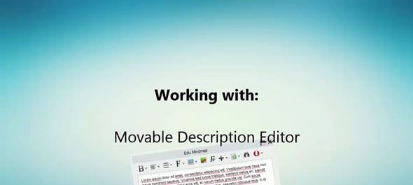 Verplaatsbare editor in Visual Paradigm