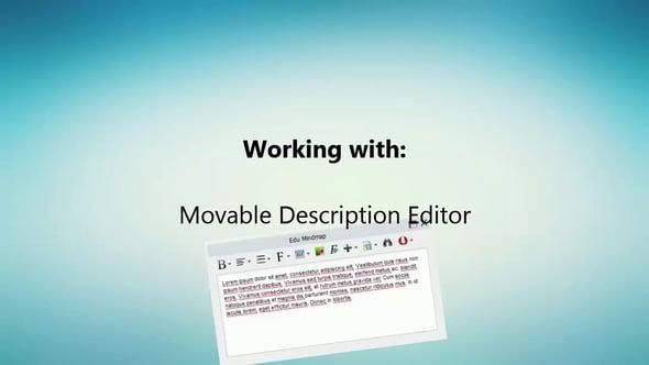verplaatsbare editor