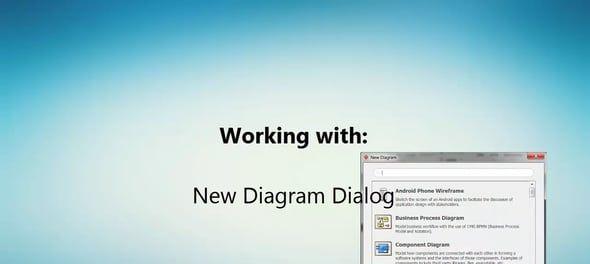 Nieuw diagram openen in Visual Paradigm